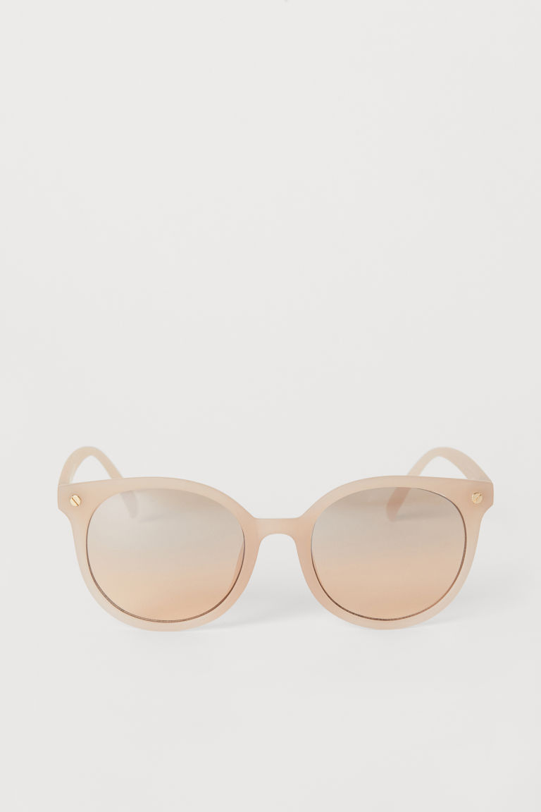 Sunglasses - Powder beige - Ladies | H&M CN
