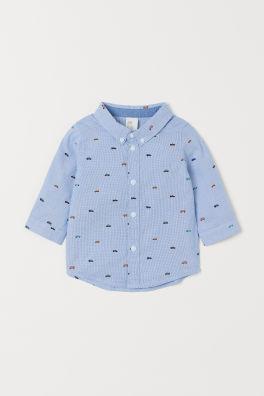 große Vielfalt Modelle gut aussehen Schuhe verkaufen moderate Kosten Baby Jungen Hemden – Größe 68-104 – Online kaufen | H&M DE