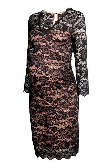 MAMA Lace dress - Black -  | H&M GB