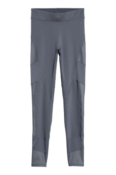 Sports tights - Grey-blue -  | H&M GB