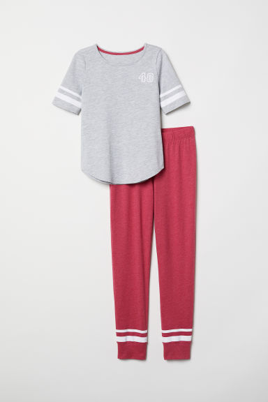 Pigiama - Rosa scuro - BAMBINO | H&M IT