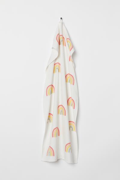 H&M - Patterned bath towel - 1