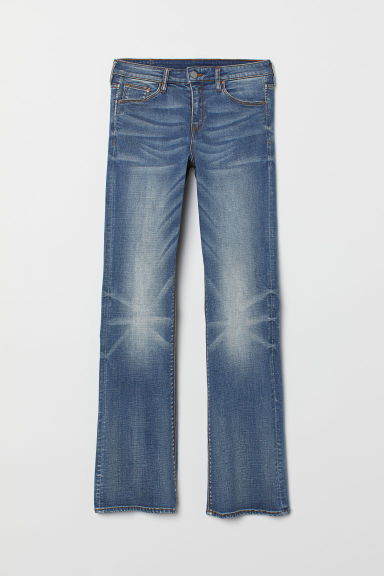 Bootcut Regular Jeans - Azul denim -  | H&M ES