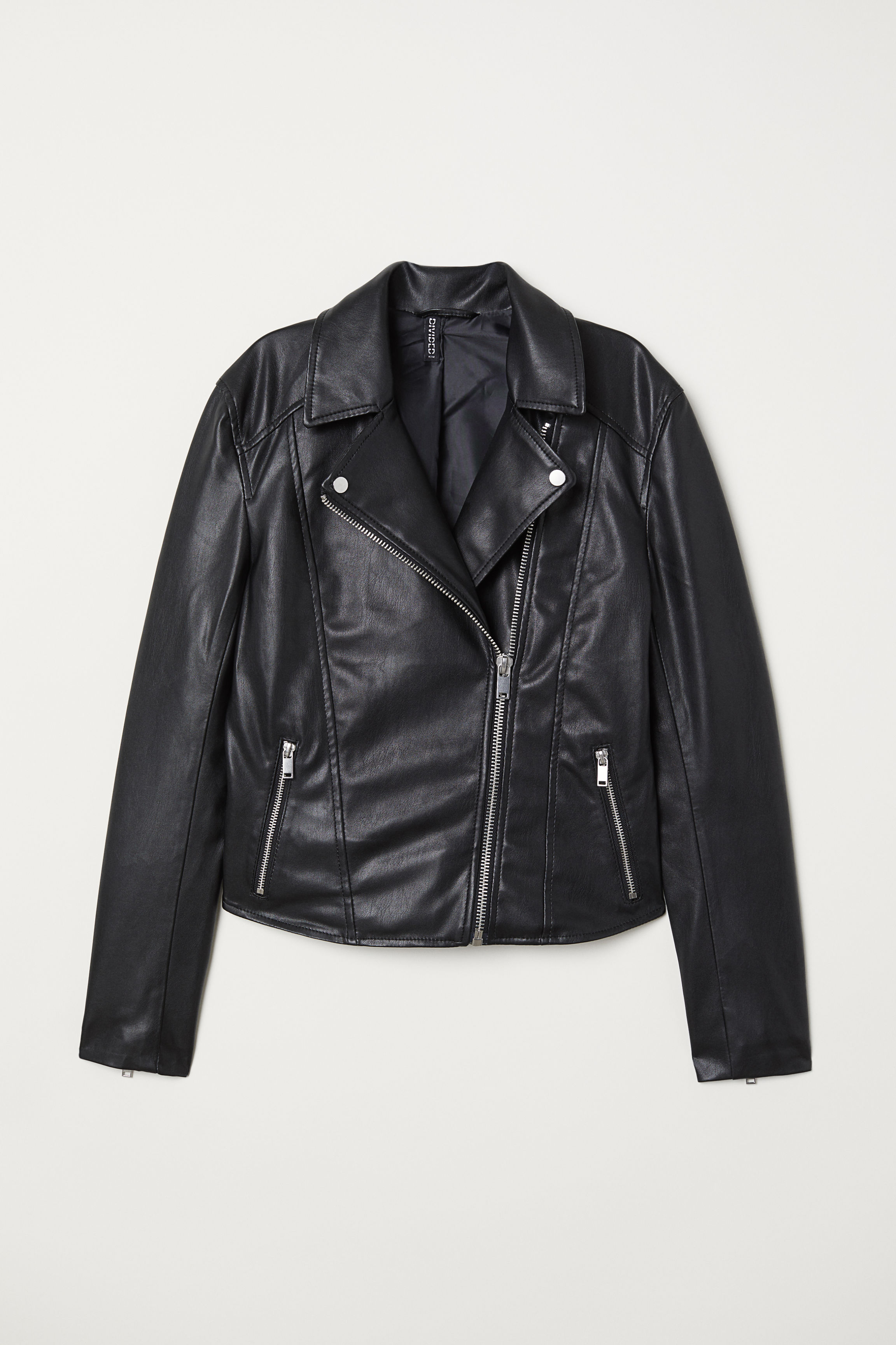 d8a97dea9ee5 Biker Jacket - Black - | H&M US