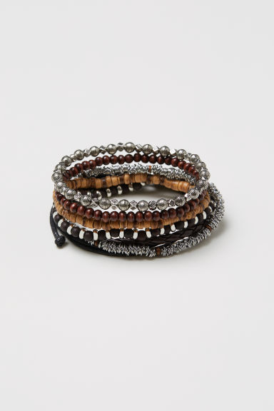 6-pack bracelets - Multicoloured - Men | H&M
