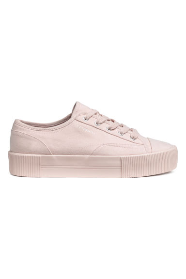 Platform trainers - Powder pink -  | H&M CN