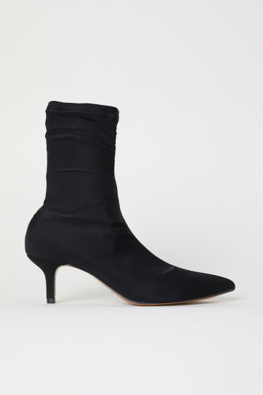 Sock-style court shoes - Black - Ladies | H&M