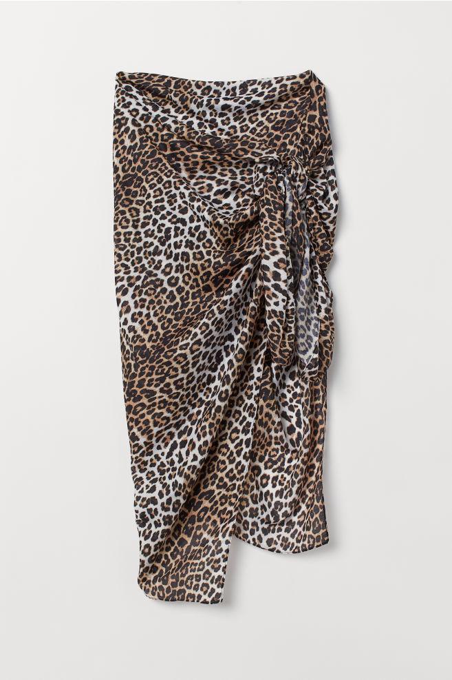 ... 4-i-1-scarf - Vit Leopardmönstrad - DAM  2ceea145497a2