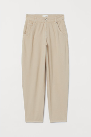 Ankle-length Twill Pants