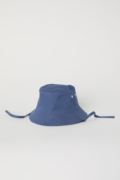 Cotton fisherman's hat - Dark blue - Kids | H&M CN