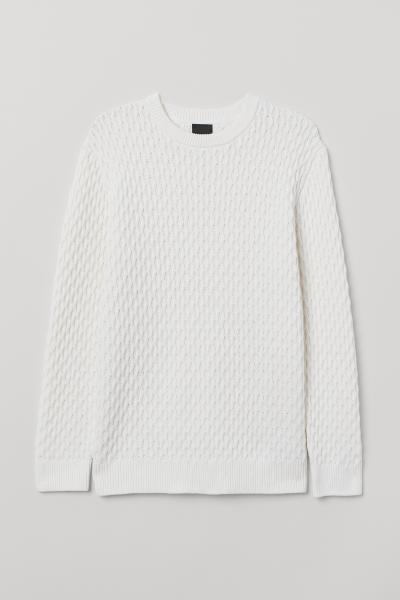 H&M - Cable-knit jumper - 5