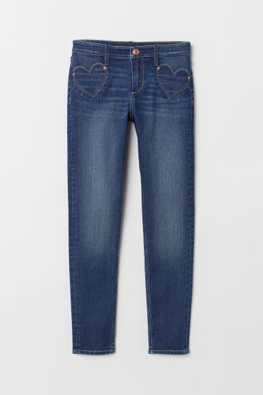 Superstretch Skinny Fit Jeans - Blau - Kids | H&M DE