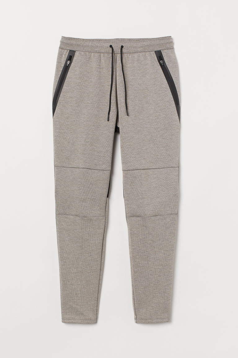 Sports joggers - Beige marl -  | H&M GB