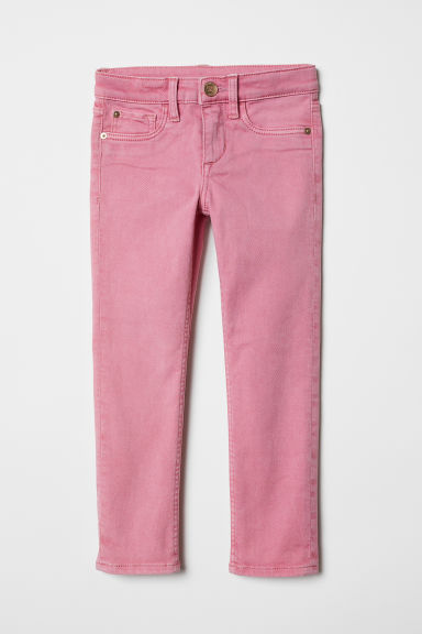 Twill trousers - Pink - Kids | H&M