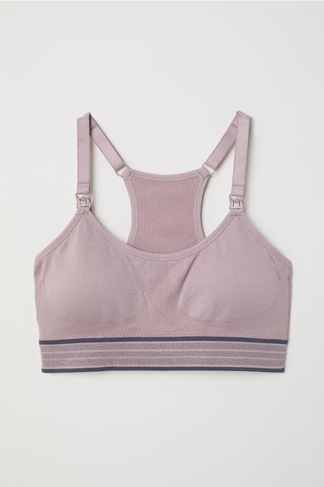 299cf75e1d8 MAMA Nursing Sports Bra - Vintage pink -