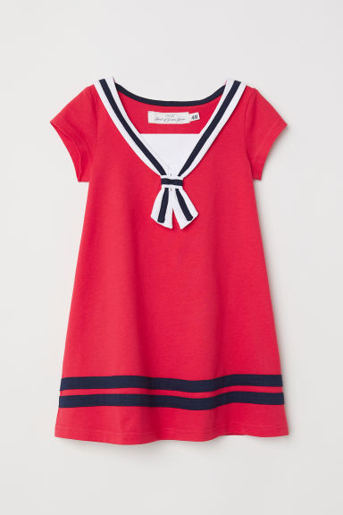 Sailor dress - Red -  | H&M