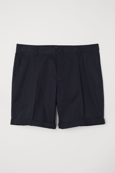Chino shorts - Black - Men | H&M