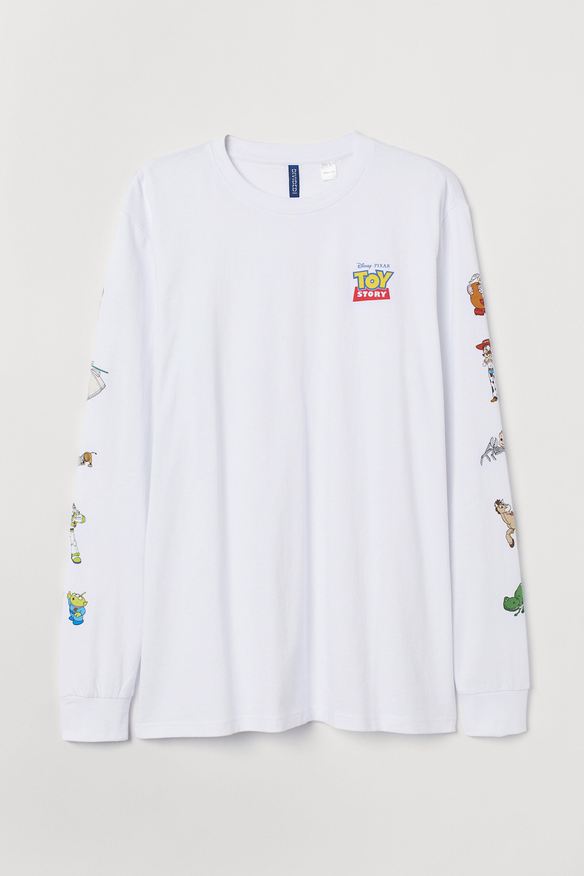 0b1daf4b0 Camiseta de manga larga - Blanco Toy Story - HOMBRE