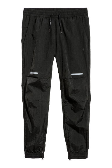 Nylon sports trousers - Black - Men | H&M