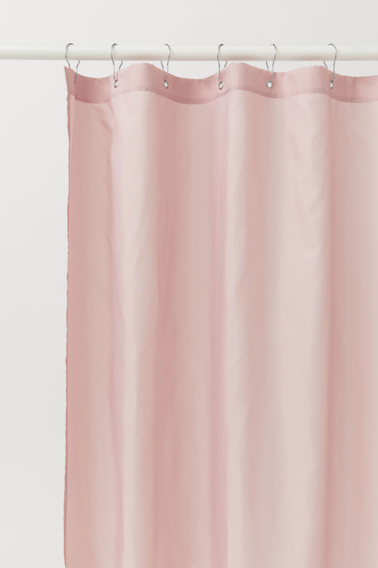 Shower curtain - Old rose - Home All | H&M CN