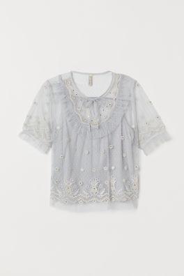 4094a712038f Skjorter og bluser Sale | H&M DK