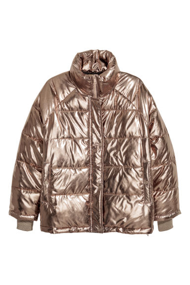 H&M+ Padded jacket - Gold-coloured -  | H&M GB