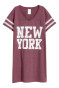Burgundy/New York