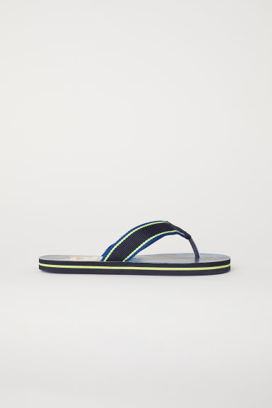 Flip-flops - Black/Palm trees - Kids | H&M