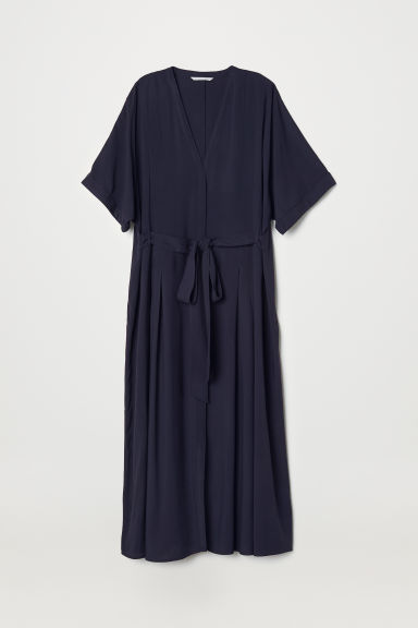 Kaftan dress - Dark blue - Ladies | H&M