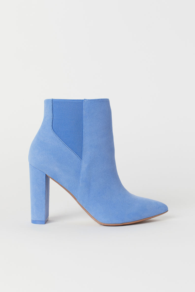 Ankle boots - Light blue -  | H&M GB