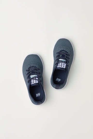 Fully-fashioned trainers - Dark blue -  | H&M