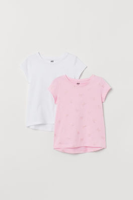 c696df35a2 Girls Tops & T-shirts - 18 months - 10 years - Shop online | H&M US