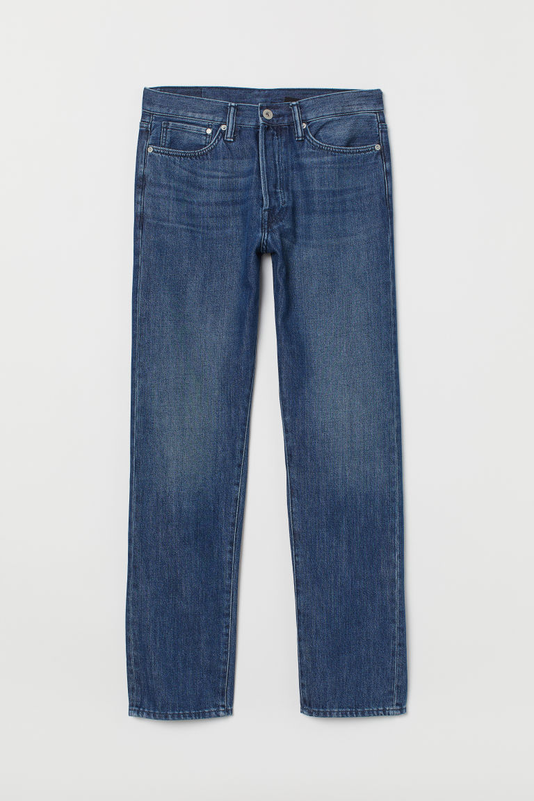Straight Coolmax Jeans - Denim blue - MUŽI | H&M CZ