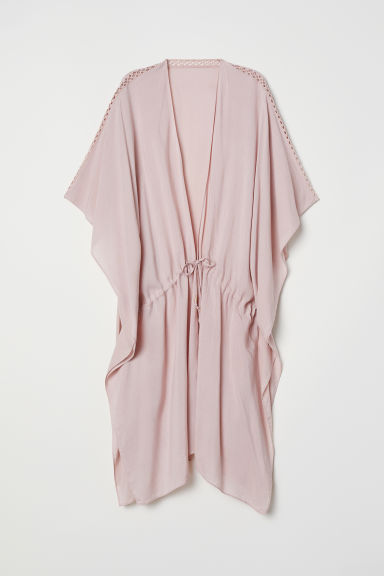 Viscose poncho - Powder pink - Ladies | H&M CN