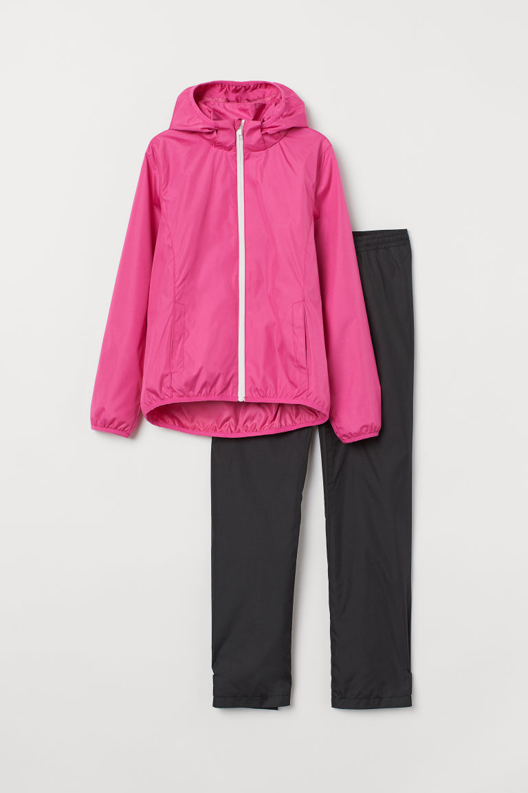 Rainwear - Cerise/Black -  | H&M
