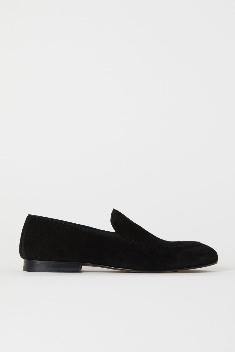 Suède loafers - Zwart - HEREN | H&M BE
