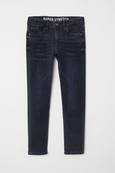 Superstretch Skinny Fit Jeans - 深蓝色/黑色 - Kids | H&M CN