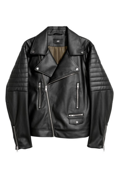 Bikerjas - Zwart - HEREN | H&M BE