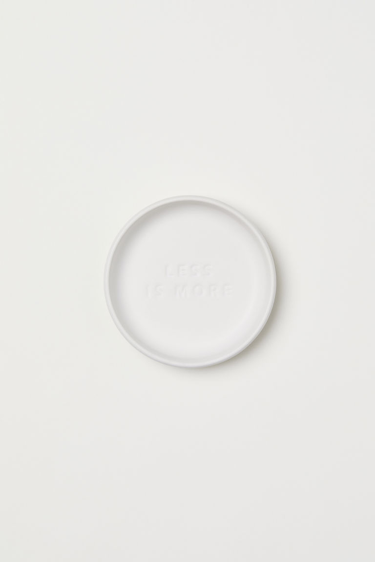 Ceramic soap dish - White - Home All | H&M CN