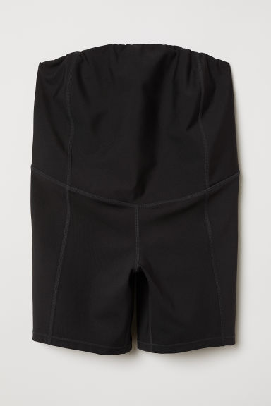 MAMA Short sports tights - Black - Ladies | H&M CN
