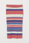Blue/Red striped