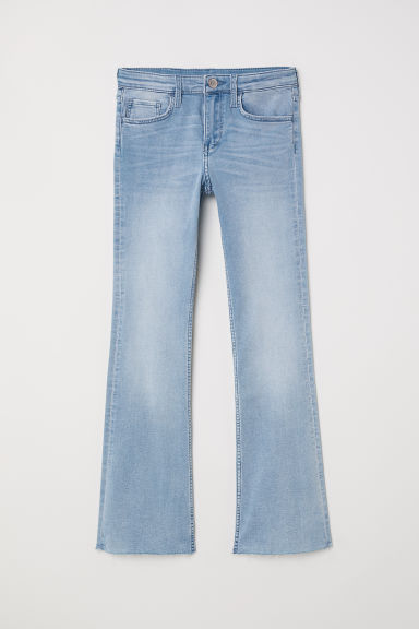 Superstretch Boot cut Jeans - Light blue denim - Kids | H&M