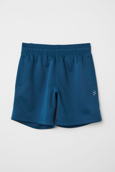 Sports shorts - Dark blue/Orange - Kids | H&M CN