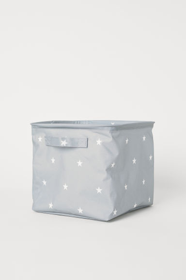 Storage box - Light grey/Stars - Home All | H&M GB