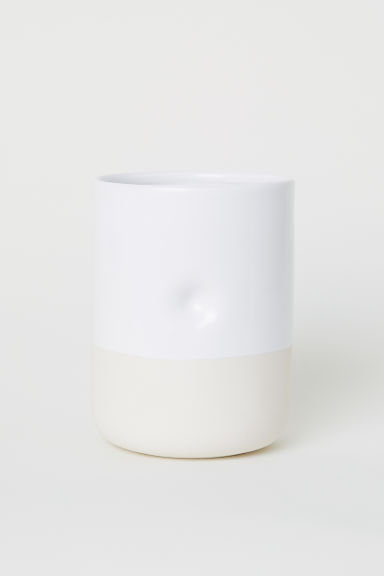 Ceramic kitchen utensil holder - White - Home All | H&M CN