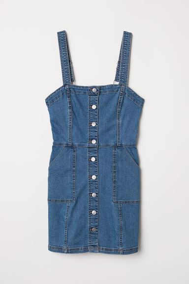 Abito a salopette - Blu denim -  | H&M IT