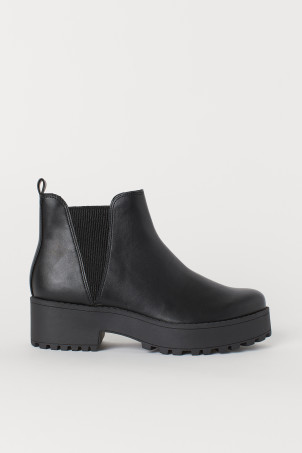 98e0d947c42abf Bottines Femme | Chaussures Femme | H&M FR