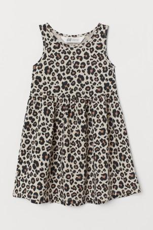 Sleeveless jersey dress 40ad33214293