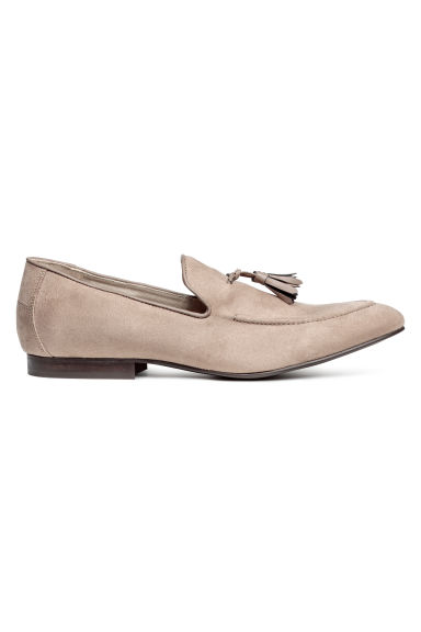 Tasselled loafers - Light mole -  | H&M