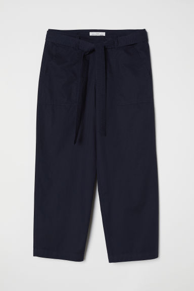 Utility culottes - Dark blue - Ladies | H&M CN